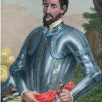 Hernando de Soto in armor Tennessee Expedition