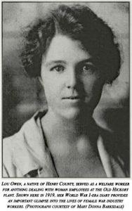 Lou Cretia Owen. 1919
