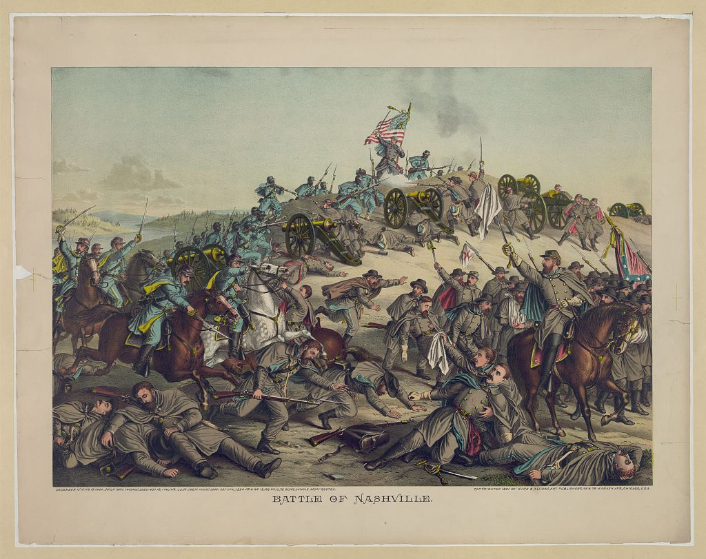 The Battle of Nashville, Civil War Tennessee, Tennessee history, politics and culture from the Tennessee state Historical Society.
